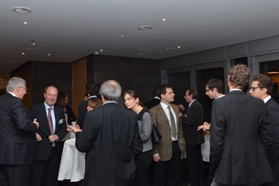 Networking opportunities during reception